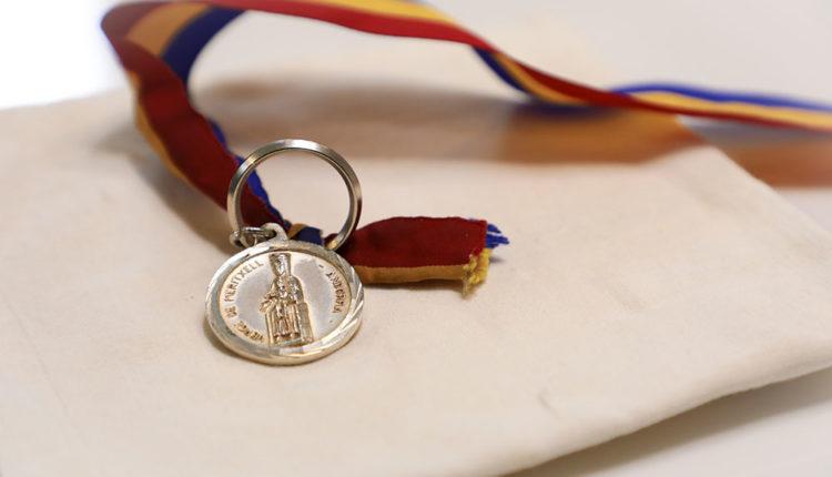 Medalla commemorativa de Nostra Senyora de Meritxell