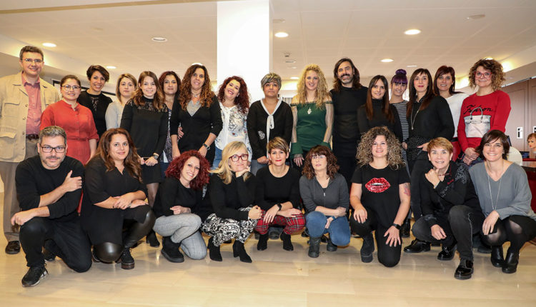Grup de professionals Schwarzkopf Professional i Comercial Renoir