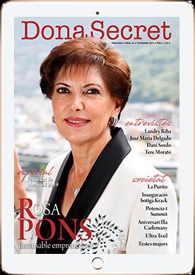 Revista Dona Secret 54 - Rosa Pons - Setembre 2019
