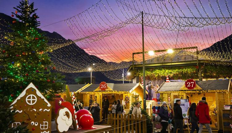 Poblet de nadal a les festes nadalenques