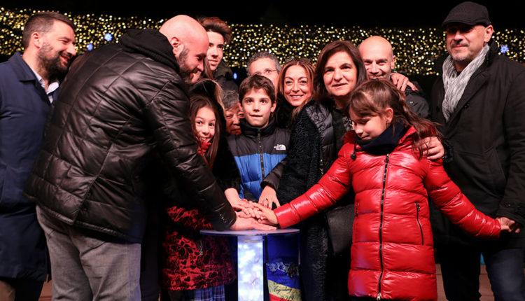Encesa de llums de Nadal a Escaldes-Engordany