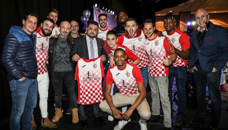 Jose Costa de Nova Constructora amb el club Penya Encarnada