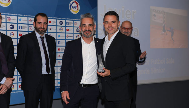 Javier Saviola Nit del Futbol de la FAF