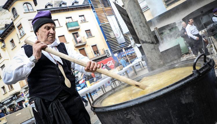 Escudella de Sant Antoni a Andorra la Vella