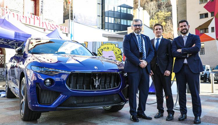 Maserati i Grup Becier al Museu Carmen Thyssen Andorra