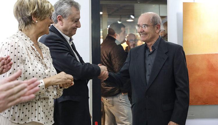 Joan Ganyet i Jordi Marquet a la Galeria Art Al Set