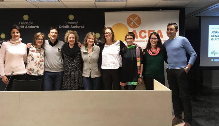 Equip de l'Associació de Celíacs d'Andorra