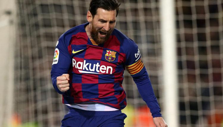 Lionel Messi davanter FC Barcelona