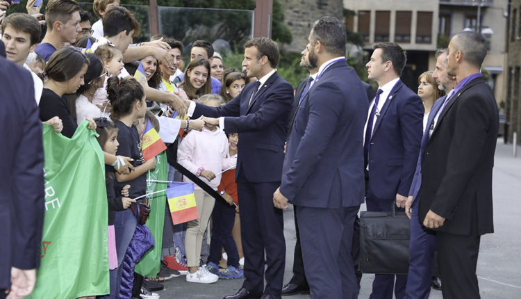 Visita emmanuel macron a Andorra