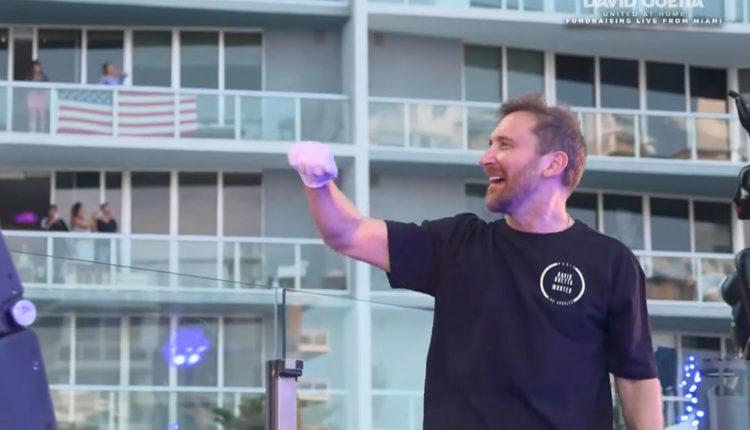 David Guetta en concert a Miami