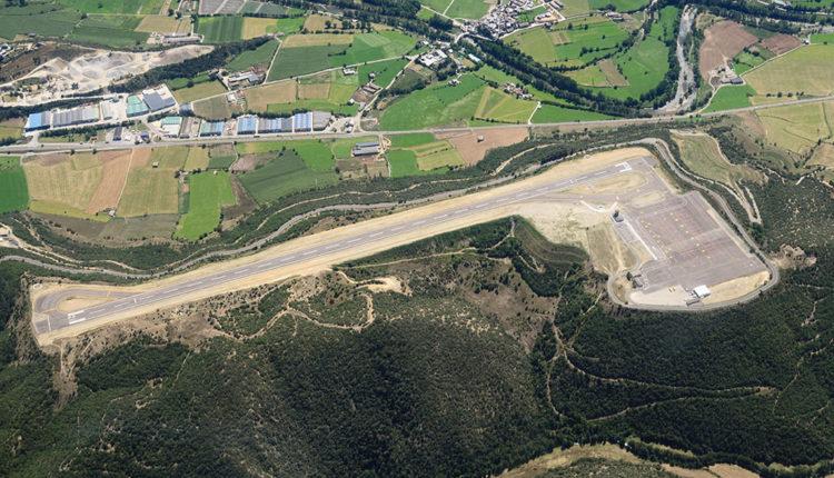 Vista aèrea Aeroport