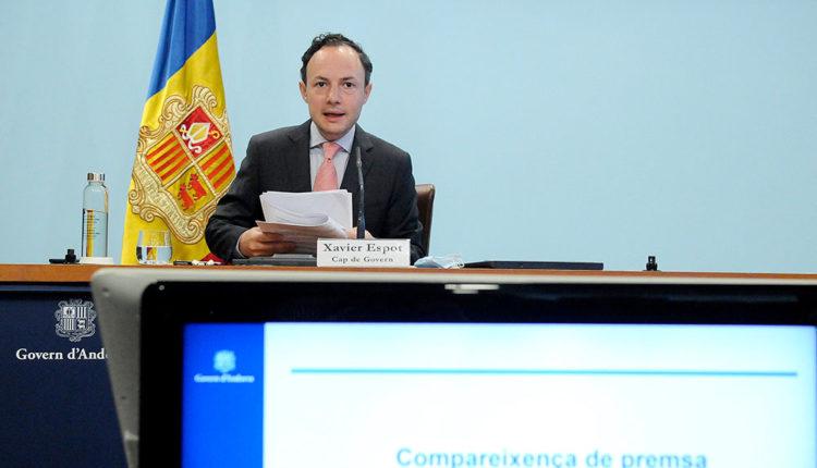 Xavier Espot cap de Govern d'Andorra