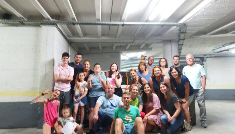 Familiars i amics de la Berta