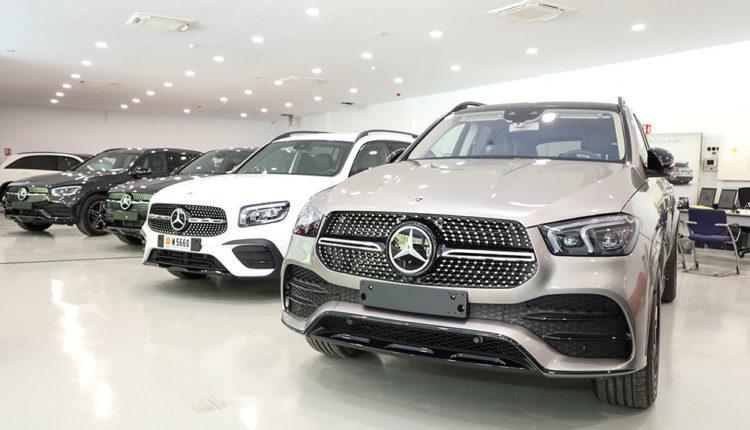 Concessionari Mercedes, de Pyrénées Andorra
