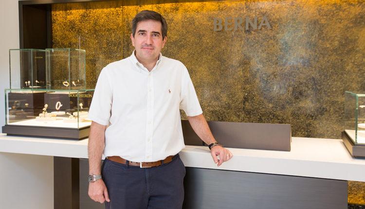 Toni Pons a la Joieria Berna