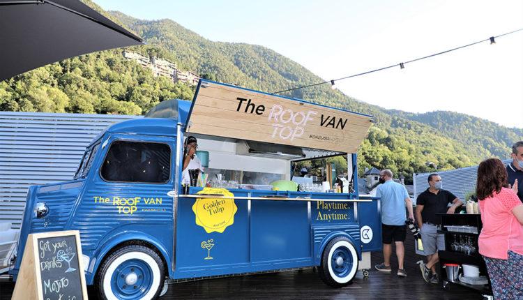 Terrassa The RoofTop Van