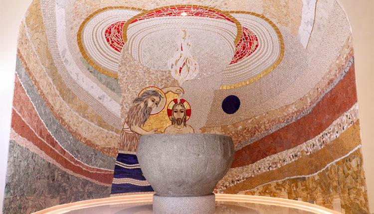 Baptisteri de l'Església de Sant Julià i Sant Germà