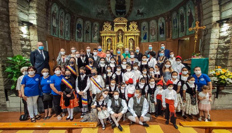 Missa de Santa Anna durant la Festa Major