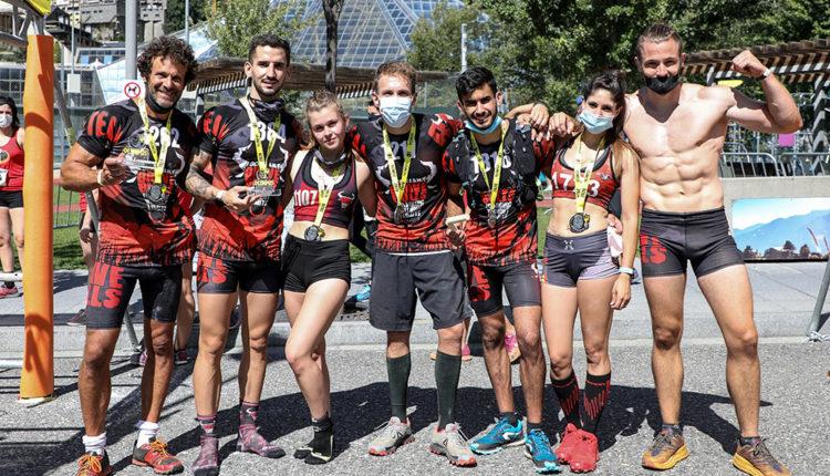 Competidors de l'Olympus Race
