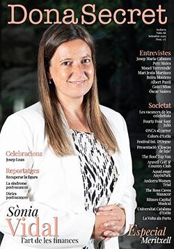Revista Dona Secret 66 - Setembre 2020 - Sònia Vidal