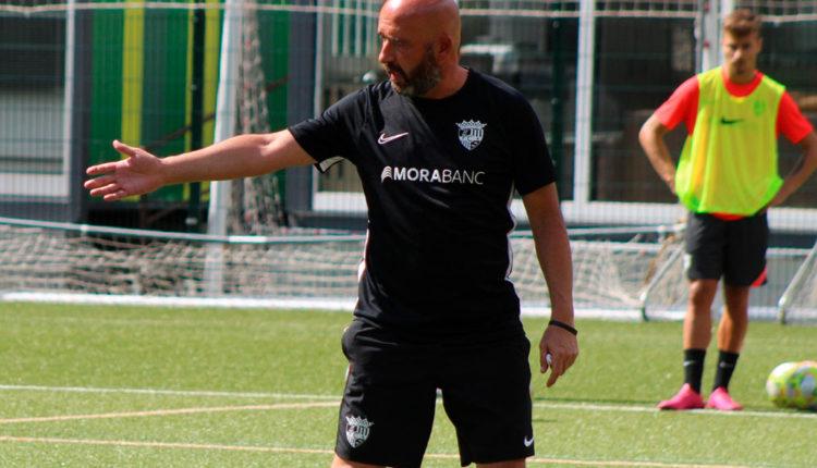 Nacho Castro entrenador del FC Andorra