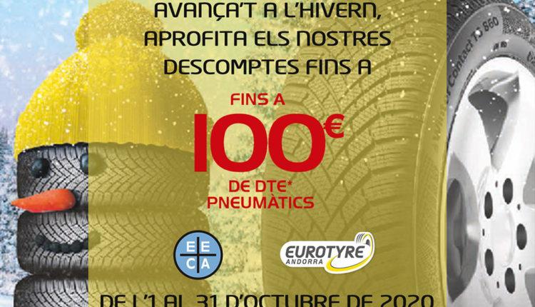 Descompte pneumàtics EUROTYRE Andorra