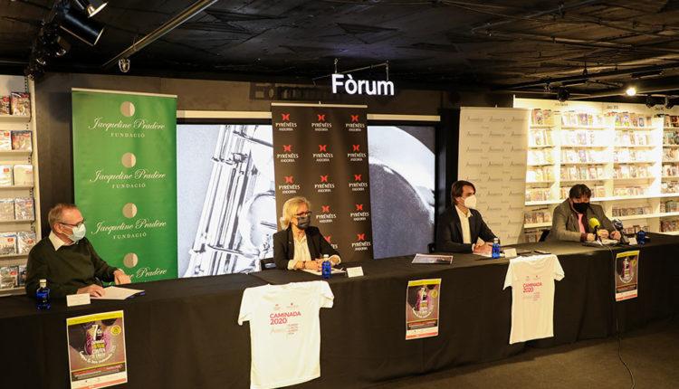 Roda de premsa de presentació de la 7a Caminada contra el càncer