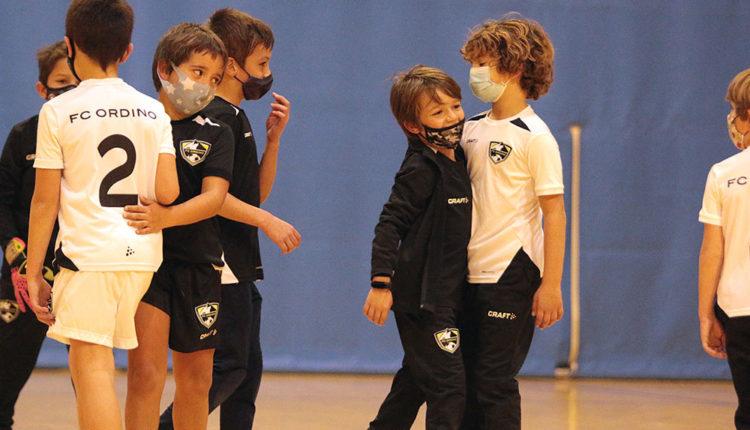 Futbol infantil del FC Ordino