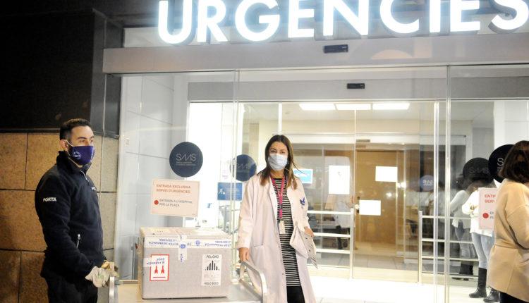 Vaccí de Pfizer a l'Hospital Nostra Senyora de Meritxell