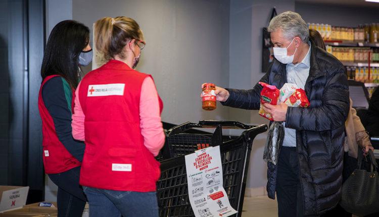 Recollida solidària d'aliments Creu Roja Andorrana