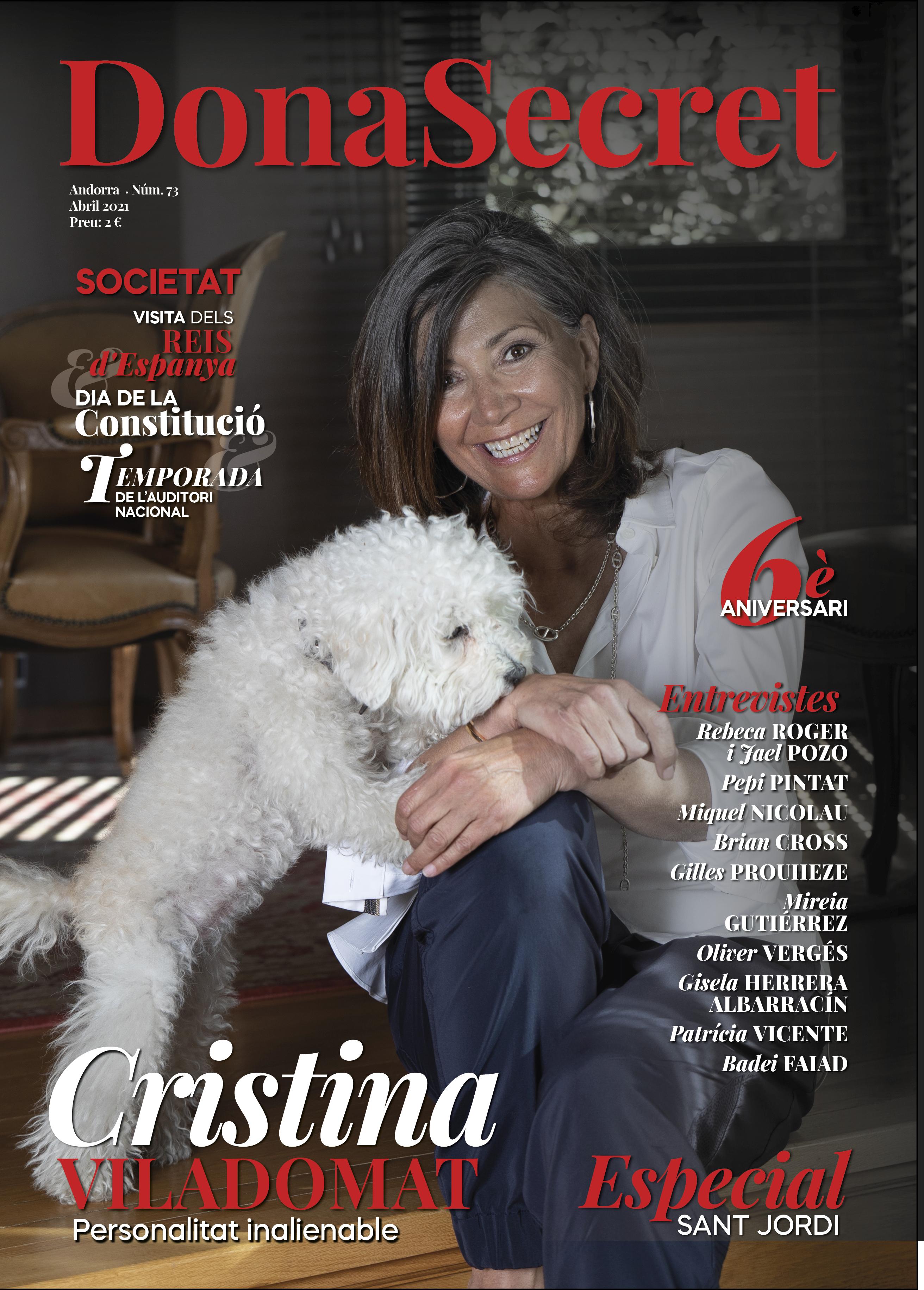 Revista Dona Secret 73 - Abril 2021 - Cristina Viladomat