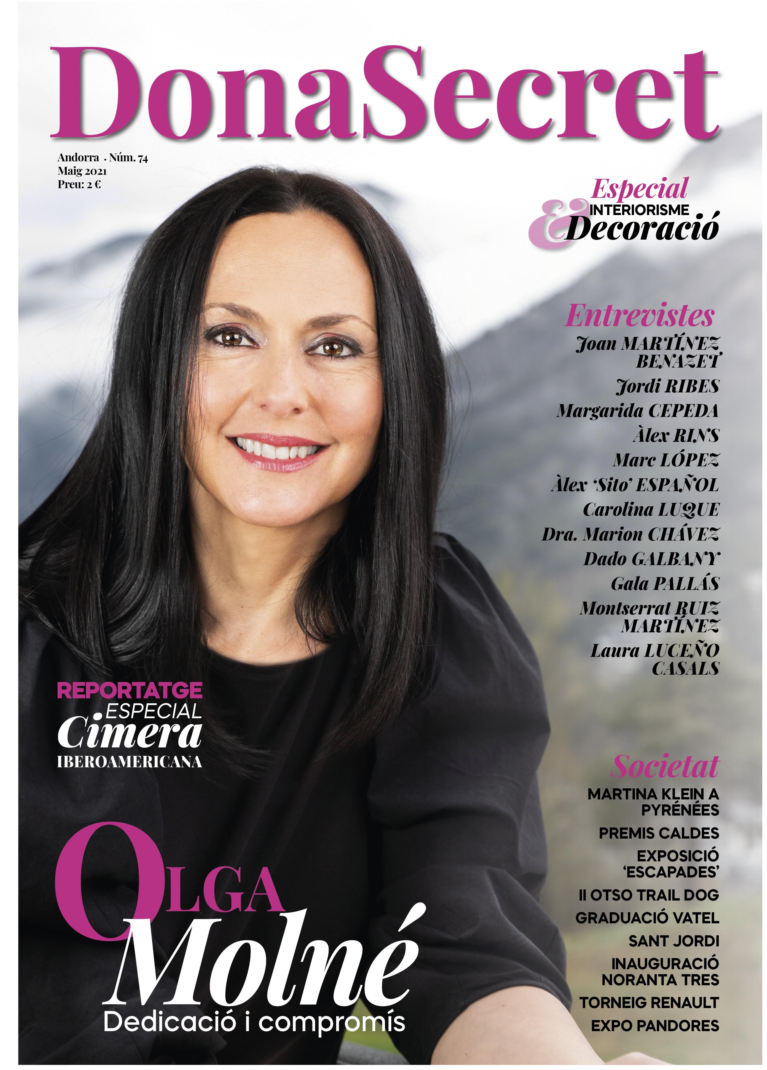 Revista Dona Secret 74 - Maig 2021 - Olga Molné