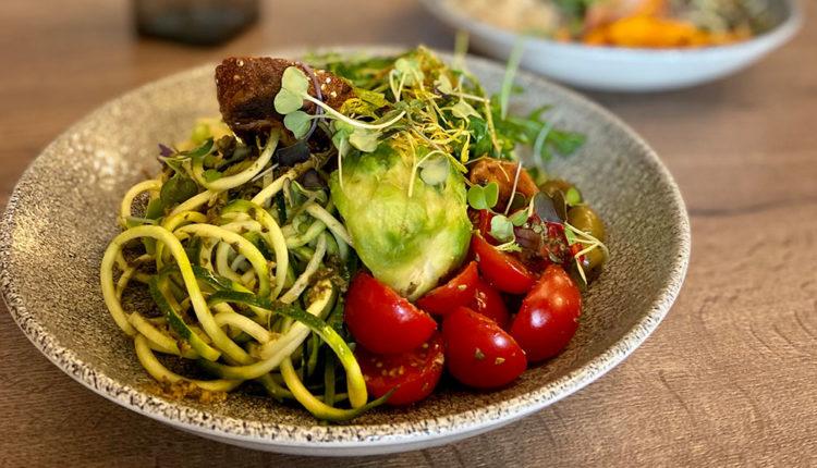 Cuina vegetariana a Noranta Tres