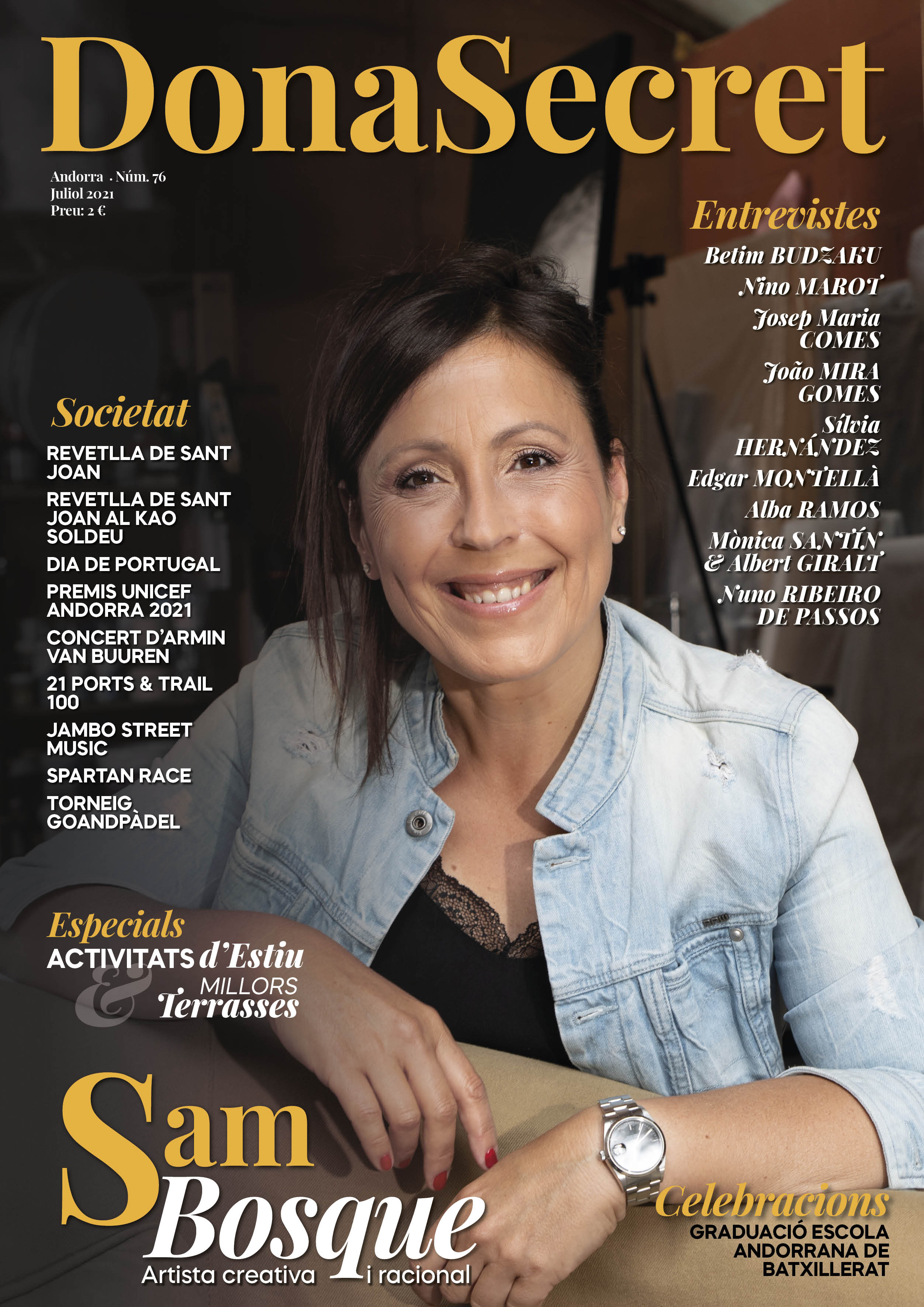 Revista Dona Secret 76 - Juliol 2021 - Sam Bosque