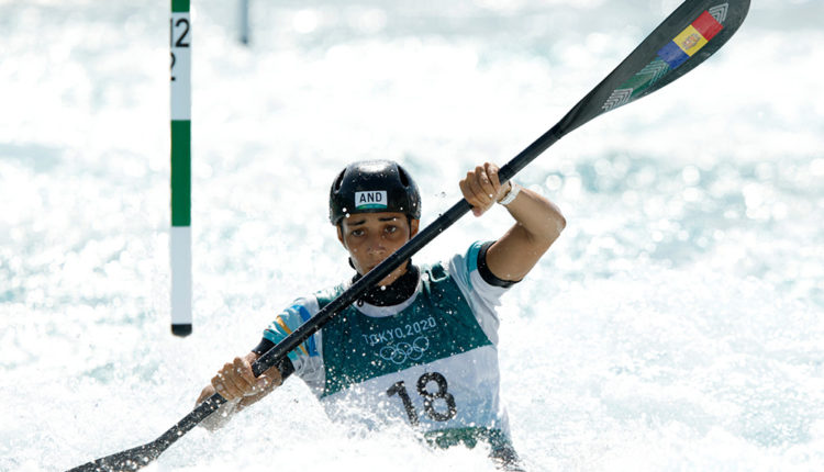 Mònica Doria als Jocs Olímpics de Tòquio 2020
