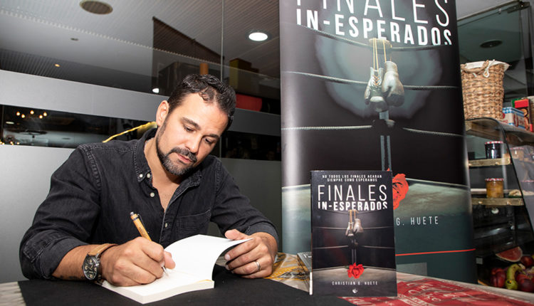 Christian G. Huete autor de 'Finales in-esperados'